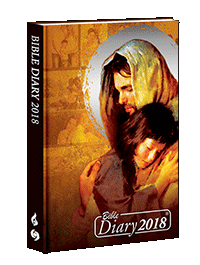 Bible Diary Hard 2018 Yellow